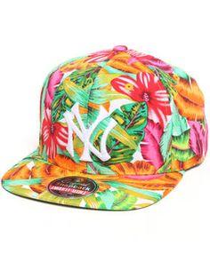 NY gorra plana tropical