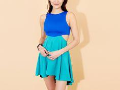 Donna Mizani Diamond Flounce Dress. Cute!