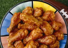 Honey Barbecued Chicken Wings Recipe