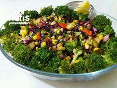 Brokoli Salatası ( Yedikçe Yediren )
