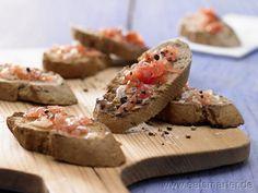 Geröstete Tomatenbrote - smarter - Kalorien: 96 Kcal | Zeit: 20 min.