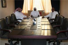 Yassin Mohammed and the Sheiks representatives.