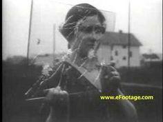 Test d'une vitre pare-balle en 1930 - La boite verte