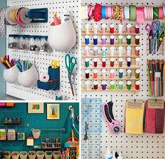 Ideas para organizar tus cositas de costura