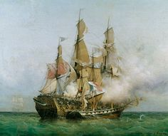 Ambroise-Louis Garneray-The Taking of the 'Kent' by Robert Surcouf (1736-1827) in the Gulf of Bengal, 7th October 1800