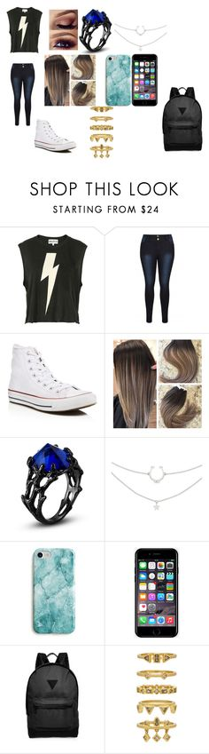 """Michael Vey"" by bruhitzpresli on Polyvore featuring Wildfox, Converse, Recover, Off-White, River Island and Luv Aj"