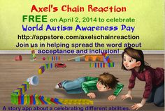 Alex's Chain Reaction FREE for World Autism Awareness (And Acceptance) Day, April 2nd!