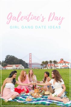 Top 10 best ideas for a girl gang Galentine's Day party. My list is full of fun activities and dates you can plan with your besties.  #galentines #galentinesday