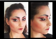 Make up study for Turandot Opera. Accademia Teatro alla Scala 2016  Model: Emy