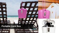 portable beach lock box
