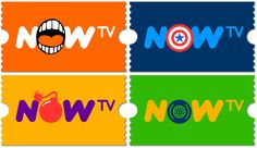 New Logo and Identity for NOW TV by venturethree