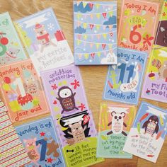 GOODIES - Afrikaans Baby Milestone Cards