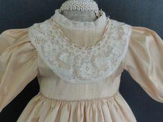 Robe EN Soie Pour Poupee Ancienne Bleuette OU Autre 27cm Doll Dress G Bravot | eBay