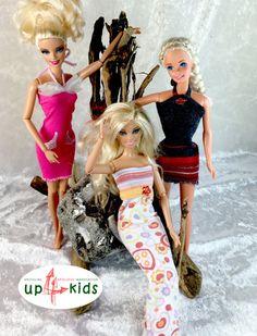 OOAK - handgefertigte Upcycling - Unikate von up4kids  Traumhaftes Outfit Fashion-Set 25  +Ich bin ein Upcycling-Modell. Mich gibt es nur einmal!+  Lieferumfang:  3 Teile = 3 Kleider  Idee &...