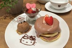 東京・お台場のハローキティカフェにバレンタイン限定メニュー - チョコレートプレートなど | ニュース - ファッションプレス