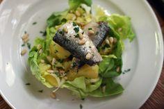 Sardine & Potato Salad with Pine Nuts