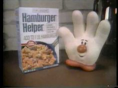 Hamburger Helper Helping Hand 1979 TV ad
