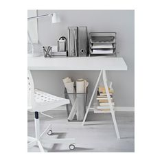 DOKUMENT Wastepaper basket - silver color, - - IKEA