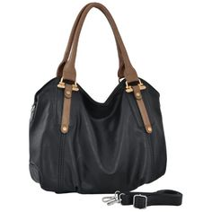MG Collection MIMI Office Tote Style Slouchy Hobo Handbag / Shoulder Bag - Listing price: $69.99 Now: $39.99