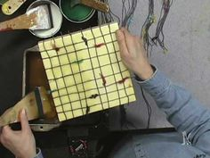 ▶ Embedding String in Beeswax with Patricia Baldwin Seggebruch - YouTube; http://www.youtube.com/watch?v=ur1ZDqRdWHA