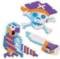 Puzzibits Captain's Crew by Manhattan Toy Art Supplies, Manhattan, Crafts For Kids, School Kids, Games, Toys, Grandkids, Children, Outdoor Decor