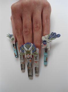 Kodi Fashion Day by TothEfa - Nail Art Gallery nailartgallery.nailsmag.com by Nails Magazine www.nailsmag.com #nailart