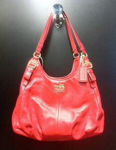 Coach red purse at Clothes Mentor