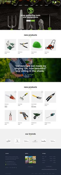 PLANTER is a fully responsive #WordPress #template that suits for every…