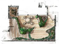 Garden Layout Rendering