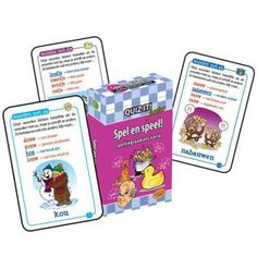 Quiz it! junior: Spel en speel : spellingraadsels varia / Claessens, Marijke; Vastbinder, Peggy
