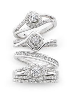 perfection – diamond wedding rings