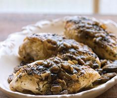 Thyme-Baked Chicken {recipe}