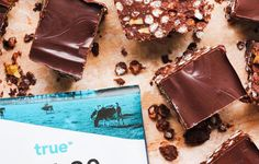 Crispy & coconutty, this protein squares are reminiscent of an old school chocolate crackle! Ultimate Smoothie Recipe, Smoothie Recipes, Chocolate Coconut Slice, Bubble Mixture, Recipe Creator, Protein Foods, Healthy Recipes, Healthy Food, Squares
