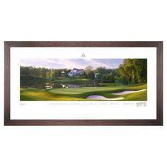 Stonehouse Framed Prestige Edition Wall Art -- Famous Golf Courses - CONGR10P