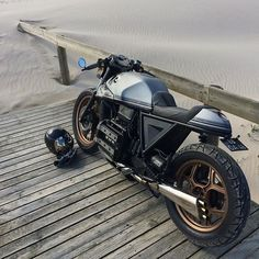 BMW cafe styled bike.