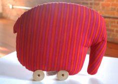 vintage mod finnish Marimekko Möhöfantti toy elephant - rare   eBay