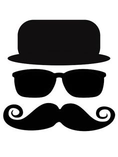 "mustache of a gentleman"" by nadil 
