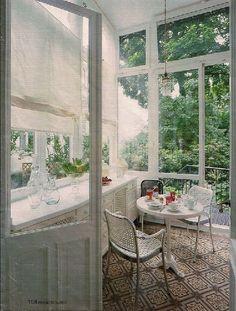 Wintergarten!