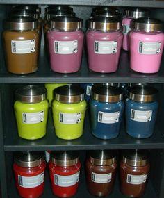 Increíbles velas: infinidad de colores y esencias