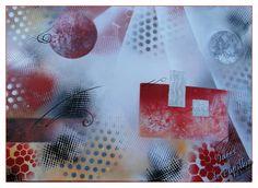 Tableau peinture à la bombe moderne, spray art