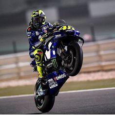 Qatar 2018 valentino Rossi #