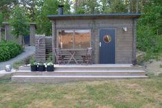 Outdoor Sauna, Outdoor Decor, Country House Outdoor, Garden Pavilion, Build Something, Saunas, Patio Lighting, Small Studio, Spa