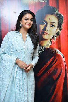 Keerthy Suresh stills at Mahanati Film Interview - South Indian Actress