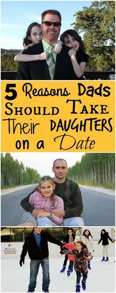 Why Dads Should Take Their Daughters on a Date