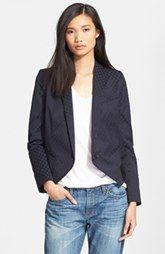 Smythe 'Anytime' One-Button Foulard Jacquard Jacket