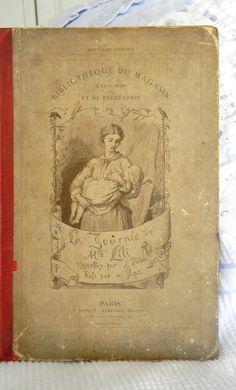 Antique La Journee de Mademoiselle Lili PJ Stahl Paris France Illustrated HC