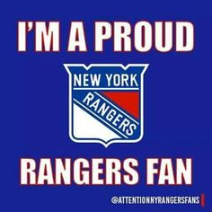 Proud Rangers fan.