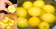 Boil Lemons in Evening Drink the Liquid as You Wake UpYou Will Be Shocked by the Effects Healthy Detox, Healthy Foods To Eat, Healthy Drinks, Healthy Eating, Juice Smoothie, Smoothie Recipes, Detox Recipes, Lemon Water Before Bed, Boil Lemons