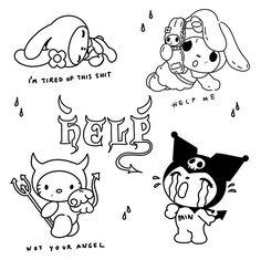 Kritzelei Tattoo, Grunge Tattoo, Doodle Tattoo, Art Drawings Sketches, Tattoo Sketches, Tattoo Drawings, Cute Drawings, Mini Tattoos, Small Tattoos