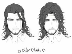 Figures and places – Hair Drawing Long Hair Drawing, Guy Drawing, Manga Drawing, Drawing Sketches, Drawings, Fantasy Character Design, Character Design Inspiration, Character Art, Hair Reference